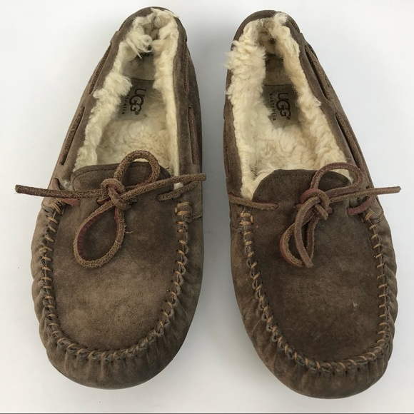 d7414ba9ae2 Ugg Australia Dakota Moccasin Slippers Loafers